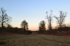 Knole, winter sundown