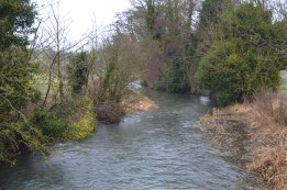 River Darent at Roman villa, near Eynsford