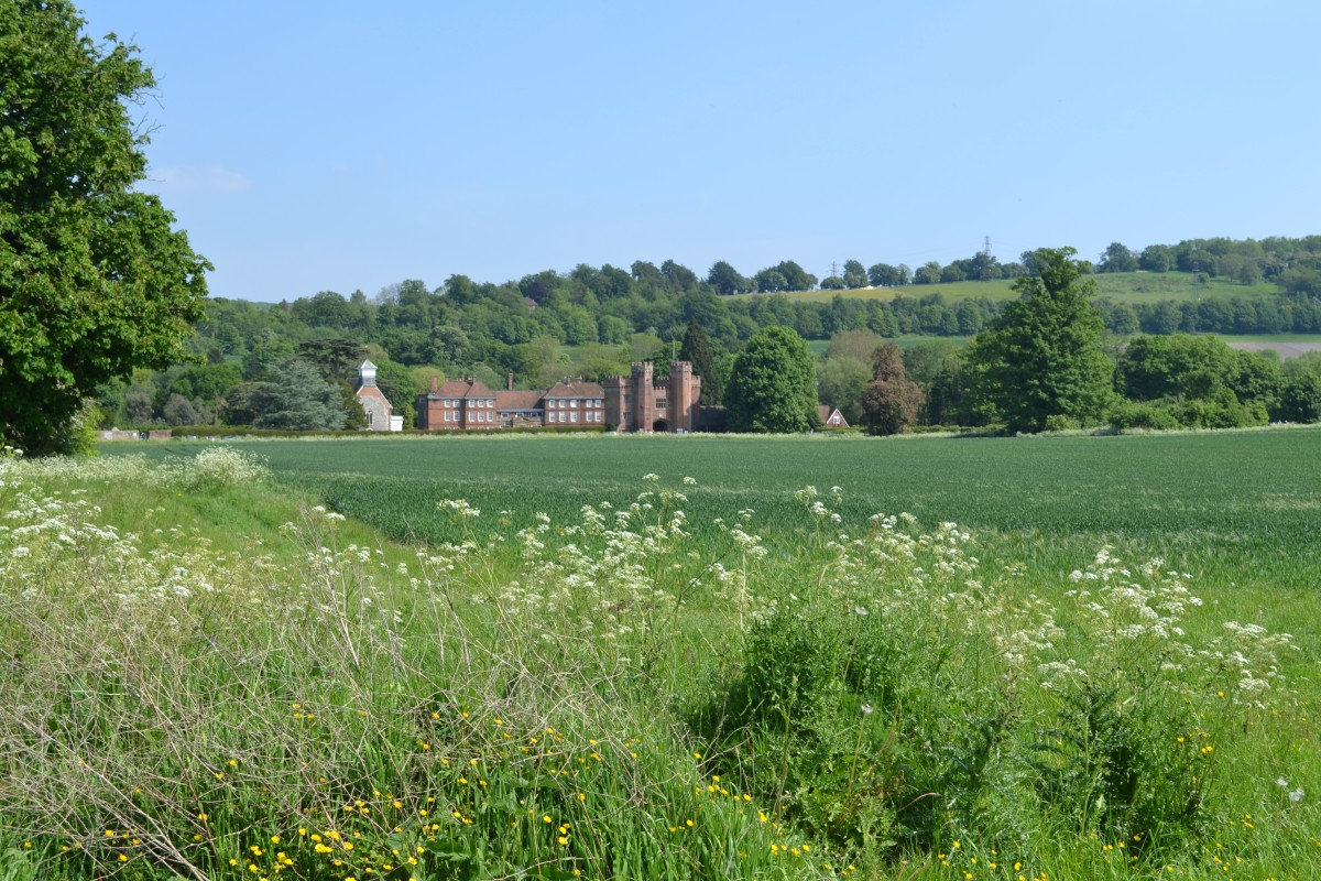 Lullingstone and castle