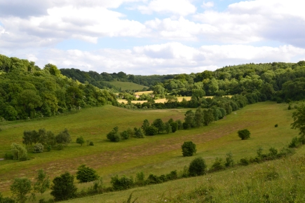 There used to be a golf course there... (view across to Magpie Bottom)