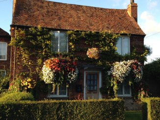 Flowery old cottage, Otford