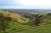 Devil's Kneading Trough, North Downs, Wye, Kent