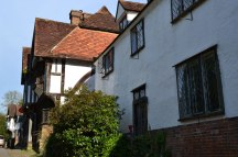 Tudor houses at Chiddingstone