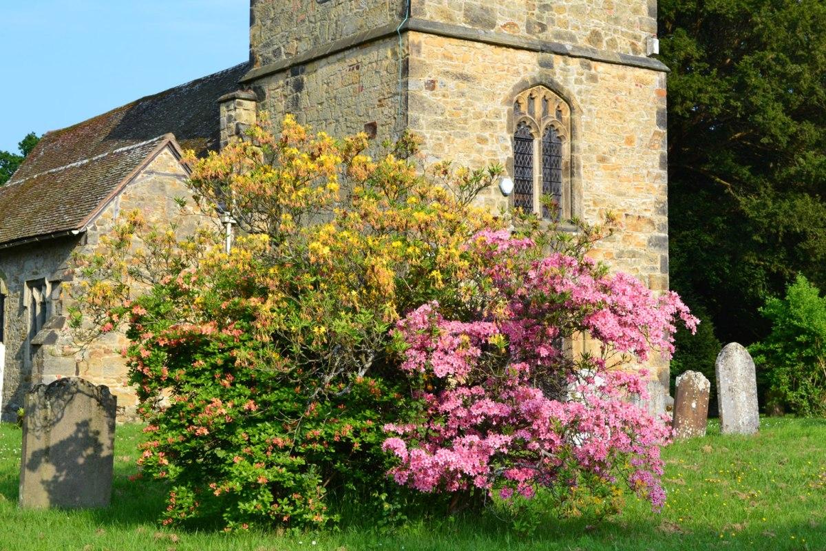 Hever church