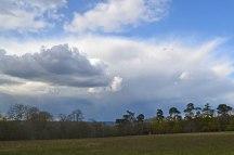 Thunderstorm near Hever