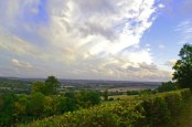 Sky in a state of flux above Sevenoaks
