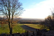 Ide Hill, view from Scord Wood in winter