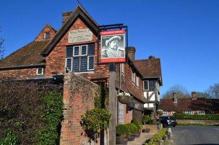 Henry VIII pub near Hever