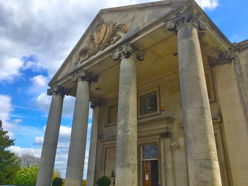 Beckenham Place Park mansion