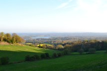 The view over Bough Beech from the Ide Hill Post Office and village community store