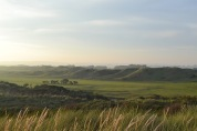 Camber Sands and golf course