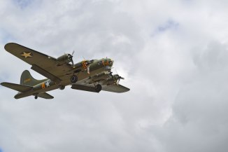 B-17 Flying Fortress Sally B at Biggin Hill