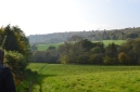The valley between Ide Hill and Scord Wood/Toys Hill