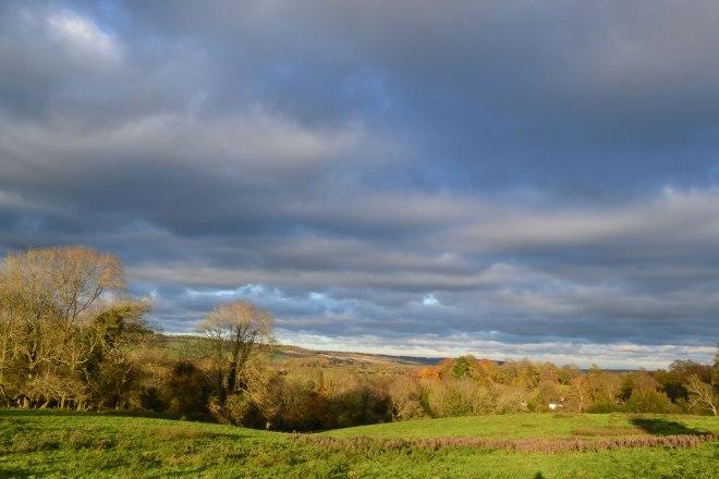 Looking back towards Westerham