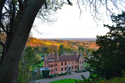 Chartwell, home of Churchill, autumn