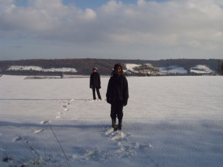 Lullingstone snow