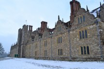 Knole in snow