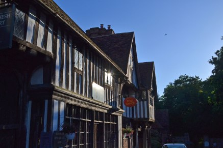 15th century houses, Chiddingstone