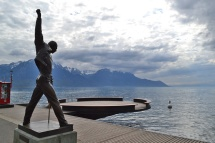 Montreux. Another local resident was Queen founder and vocalist Freddie Mercury.
