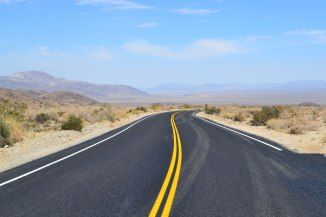 Road Joshua Tree