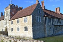 Ightham Mote's superb front