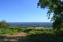 From One Tree Hill, Sevenoaks, looking towards Tonbridge and the Ashdown Forest