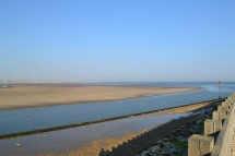 Camber Sands from Rye Harbour