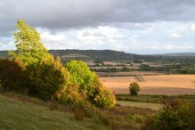 Polhill Bank, autumn