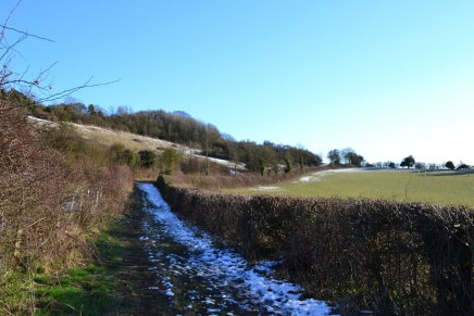 Fackenden path from White Hill