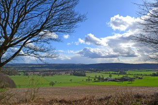 March view over Brasted and Sundridge