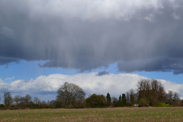 Shower cloud