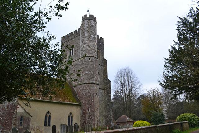 Chevening church, Kent