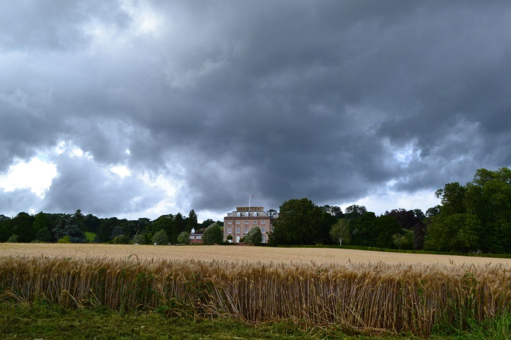 St Clere estate house